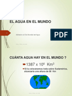 EL AGUA EN EL MUNDO.ppt