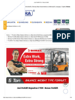 Jual Forklift 5 Ton - Bomac Foklift