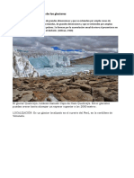 Clasificación Morfológica de Los Glaciares