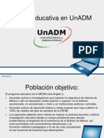 Oferta Educativa UnADM