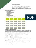 1.2 Fases de La Gestion de Proyectos