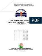HP Town & Country Planing Act 1977