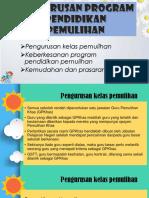 Pengurusan Program Pendidikan Pemulihan