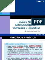 CLASE No. 3 Mercado - Equilibrio
