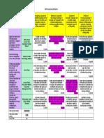tasheenas self assessment matrix