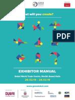 Dubai Exhibition Manual
