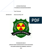 Laporan Praktikum Air Gap Dan Makroradiografi