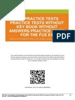 ID07cbb5489-fce practice tests practice tests without key book without answers practice tests for the fce ex