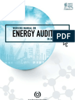 Working Manual on Energy Auditing