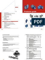 NMRV Worm Gear Motor Catalogue