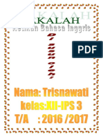 Unit 13 Trisnawati Xii-ips 3