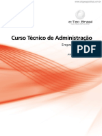 ETEC - Curso Técnico de Administração - Empreendedorismo