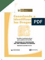 Conociendo e Identificando Las Drogas II