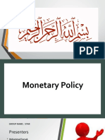 Monetary Policy  Presentation