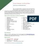 International Journal of Humanities Art and Social Studies (IJHAS)