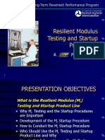 Difference between Elastic and Resilient Modulus