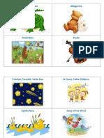 Cards for Suzuki Violin Book 1
