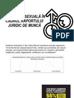 Hărțuirea Sexuală În Cadrul raportului juridic de muncă