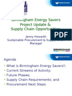 Birmingham Energy Savers Presentation