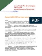 Walden NURS6650 Final Exam Latest 2019