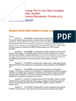Walden NURS6650 Midterm Exam Latest 2019