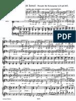 Suscepit israel Magnificat Bach