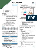 PHY 6.11 Motor Reflexes Dr. Bartolome