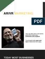 AR_VR Marketing - WeAR Studio