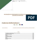 Caderno Informativo Perturbações Comportamento