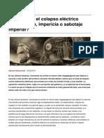 Sinpermiso-Venezuela y El Colapso Electrico Corrupcion Impericia o Sabotaje Imperial-2019!05!12