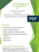 Role of Bioinformatics in Medical Laboratory