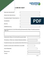 Checkliste-Vorab Fuer Energieaudit Nach DIN en 16247