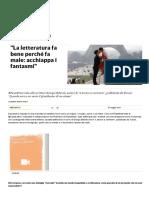 _La Letteratura Fa Bene Perché Fa Male_ Acchiappa i Fantasmi_ - Repubblica.it
