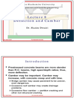 (PPT) Lecture on Deflection and Camber