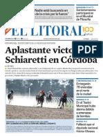 El Litoral Mañana 13/05/2019