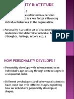 3 - Personality & Attitude