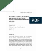 DU ZAÏRE A LA R.D. DU CONGO