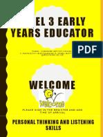 LEVEL 3 EARLY YEARS Educator sept 18 week 4 presentation.pptx