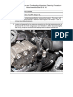 SIM120210 N14 Direct Injection & Combustion Chamber Cleaning Procedure