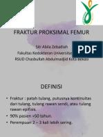 Fraktur Proksimal Femur