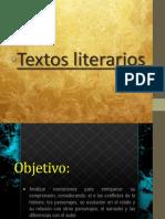 Clase 3 - Textos literarios - 2° Medio