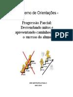 Vanilza_caderno de Orientações - Progressão Parcial Versão Agosto-2018(1)