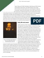 Galileo's biography