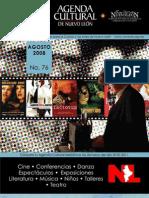 Agenda Cultural | Agosto 2008