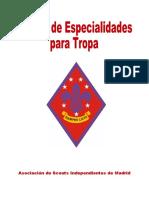 Manual de Especialidades Para Tropa