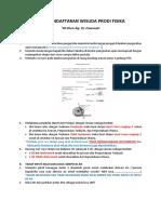 Alur Pendaftaran Wisuda Prodi Fisika