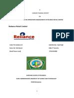 Kajal Reliance Report Finl Report