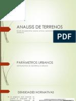 Analisis de Terrenos - Arquitectura