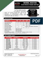 HX5100 Web Datasheet
