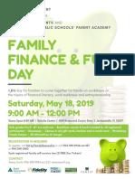 Family Finance Fun Day 2019